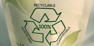 Plastic free, Recyclable, Compostable, Plastic vrij, Afbreekbaar, Biologische verpakking, PLA
